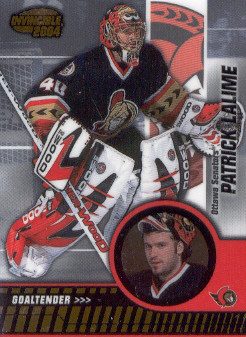2003-04 Pacific Invincible #70 Patrick Lalime