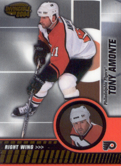 2003-04 Pacific Invincible #72 Tony Amonte