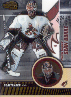 2003-04 Pacific Invincible #76 Sean Burke