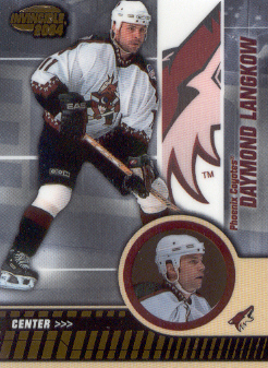2003-04 Pacific Invincible #77 Daymond Langkow