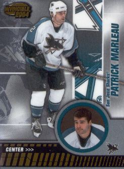 2003-04 Pacific Invincible #83 Patrick Marleau