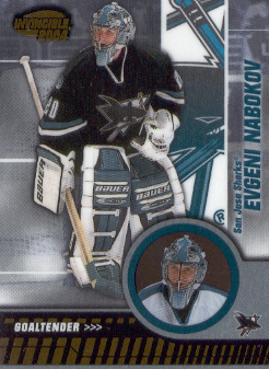 2003-04 Pacific Invincible #84 Evgeni Nabokov