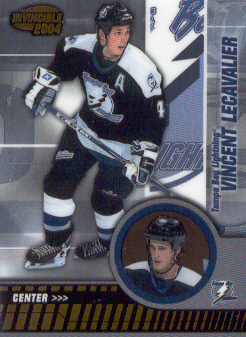 2003-04 Pacific Invincible #87 Vincent Lecavalier