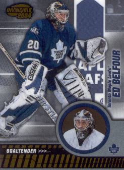 2003-04 Pacific Invincible #89 Ed Belfour