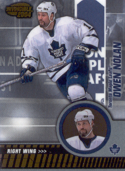 2003-04 Pacific Invincible #91 Owen Nolan
