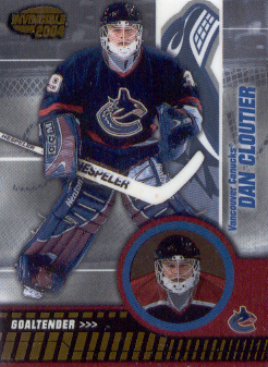 2003-04 Pacific Invincible #94 Dan Cloutier