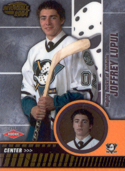 2003-04 Pacific Invincible #101 Joffrey Lupul RC