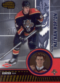 2003-04 Pacific Invincible #111 Nathan Horton RC
