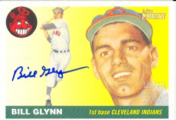 2004 Topps Heritage Real One Autographs #BG Bill Glynn