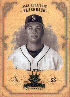2004 Diamond Kings Sepia #154 Alex Rodriguez FB
