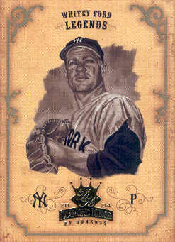 2004 Diamond Kings Sepia #168 Whitey Ford LGD