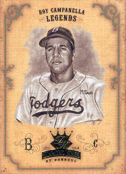 2004 Diamond Kings Sepia #169 Roy Campanella LGD