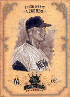 2004 Diamond Kings Sepia #170 Roger Maris LGD
