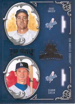 2004 Diamond Kings Team Timeline #16 D.Snider/S.Green