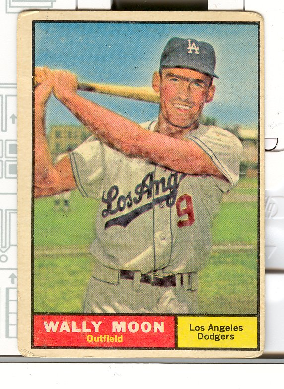 1961 Topps #325 Wally Moon