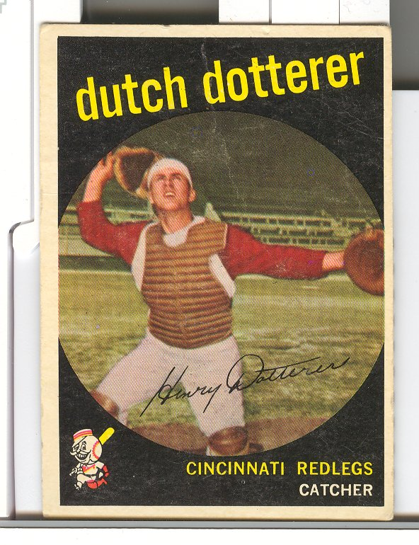 1959 Topps #288 Dutch Dotterer