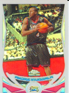 2004-05 Topps Chrome Refractors #174 Andre Iguodala