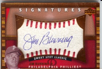 2004 Sweet Spot Classic Signatures Blue #32 Jim Bunning/65