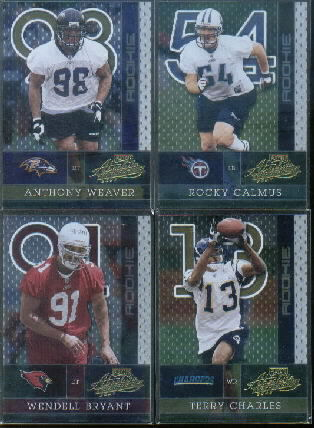 2002 Absolute Memorabilia #200 Anthony Weaver RC