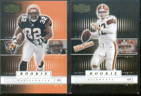 2001 Playoff Preferred #116 Rudi Johnson RC