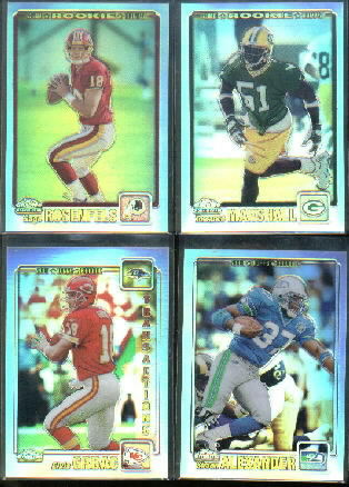 2001 Topps Chrome #304 Torrance Marshall RC