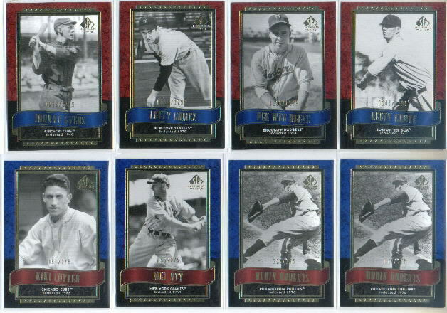 2003 SP Legendary Cuts Blue #89 Mel Ott