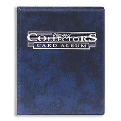 Ultra Pro 9-Pocket BLUE Collector's Series Card Album with Sheets (Comes with Ten 9-pocket pages)
