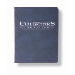 Ultra Pro Collectors Card Album - Blue with Ten 4-pocket pages