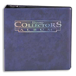 Ultra Pro Collector's 3-Ring Binder Album - Blue Print