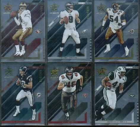 2004 Leaf Rookies and Stars Longevity #212 Cody Pickett RC