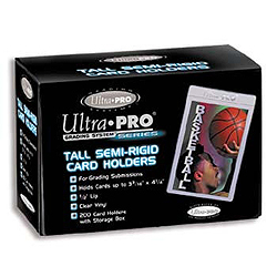 Ultra Pro Tall Semi Rigid Card Sleeves - 200 count box