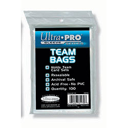 Ultra Pro Team Bags - 100 count pack
