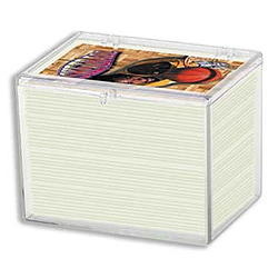 Ultra Pro Hinged Storage Box - Holds 150 cards