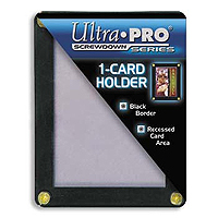 Ultra Pro 1 (one) Card Holder Screwdown