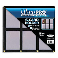Ultra Pro 6 (six) Card Holder Screwdown