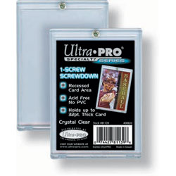 Ultra Pro Screwdown Holder 1/4 (quarter) inch with 1 (one) screw