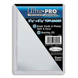 Ultra Pro Top Loader (3 1/2