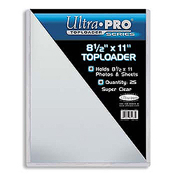 Ultra Pro Top Loader (8 1/2