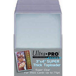 Ultra Pro Thick 75 pt Top Loader 3