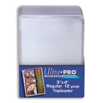 Ultra Pro Regular Top Loader (3