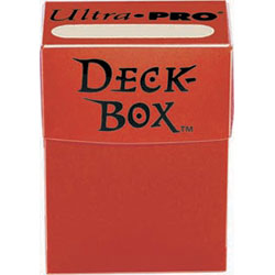 Ultra Pro Deck Box - Red