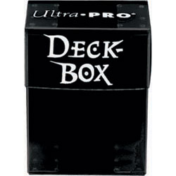 Ultra Pro Deck Box - Black