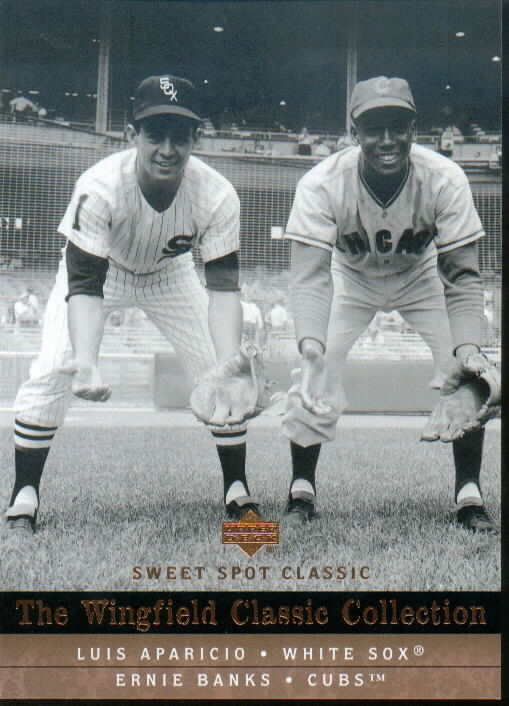 2005 Sweet Spot Classic Wingfield Classics Collection #46 E.Banks/L.Aparicio