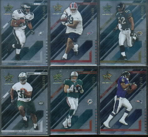 2004 Leaf Rookies and Stars Longevity #108 Jason Peters RC