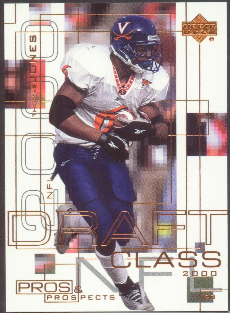 2000 Upper Deck Pros and Prospects #98 Thomas Jones RC
