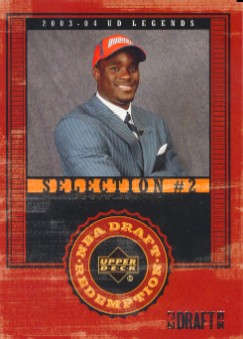 2003-04 Upper Deck Legends #137 Emeka Okafor RC 