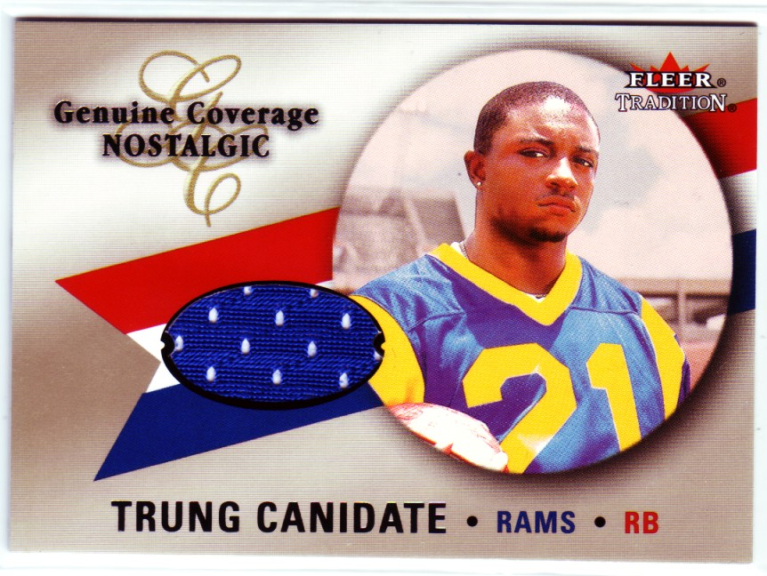 2000 Fleer Tradition Genuine Coverage Nostalgic #7 Trung Canidate
