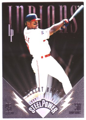 1996 Leaf Preferred Steel Power #1 Albert Belle