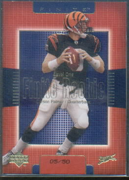 2003 Upper Deck Finite Gold #201 Carson Palmer