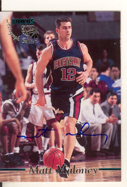 1995 Classic Autographs #85 Matt Maloney/2800